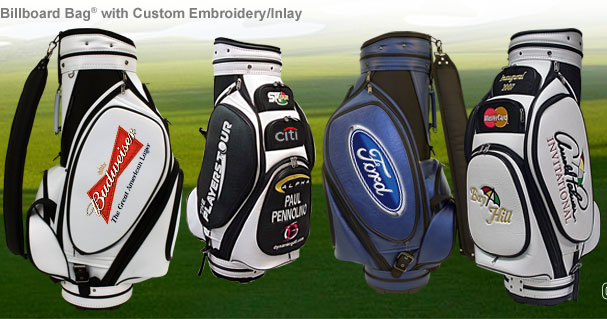 billboard golf bag