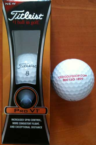 titleist prov1 custom golf balls